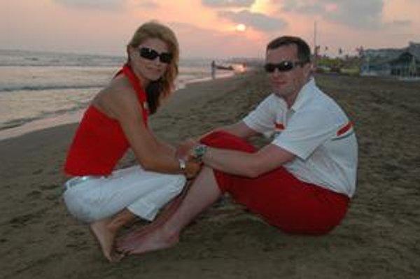 Martina a Milan Mečiarovci. Zosobášili sa pred 2 rokmi a na ten budúci možno budú kočíkovať.