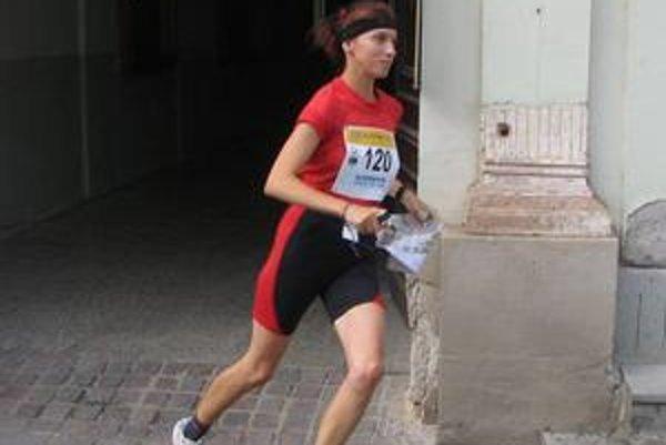 Katarína Labašová si nevie vysvetliť osudnú chybu v šprinte.