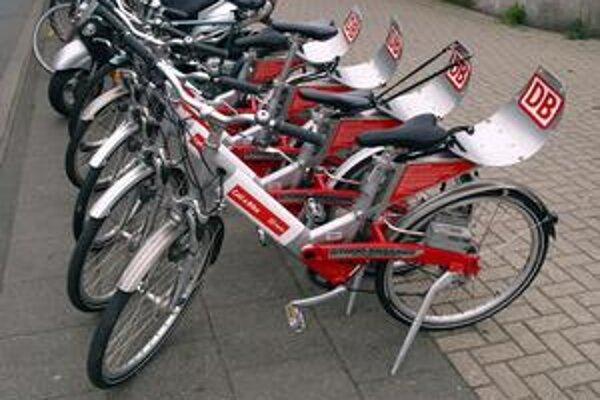 Takéto bicykle si môžete požičať v mnohých nemeckých mestách.