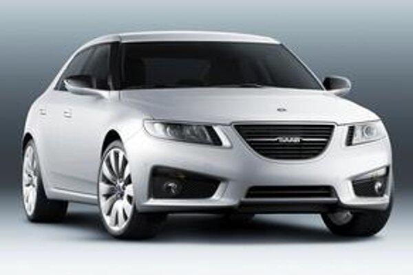 Nový Saab 9-5. Podtext: Premiéru bude mať vo Frankfurte