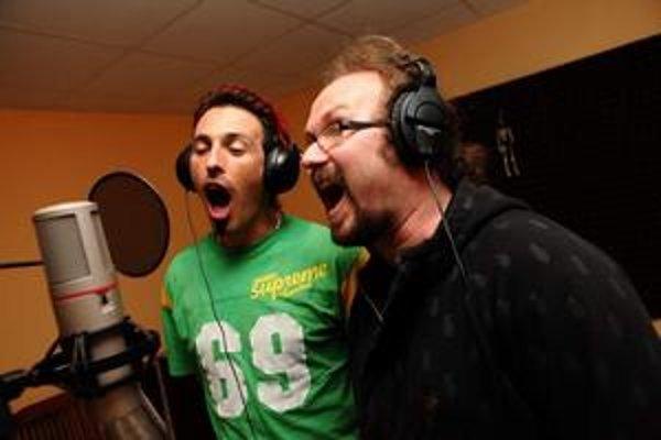 Bolo veselo. Z nahrávania vzišla aj hymna Česko-Slovenskej SuperStar.