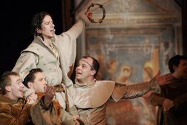 Úspešný muzikál František z Assisi uvedie dnes prešovské Divadlo Jonáša Záborského.