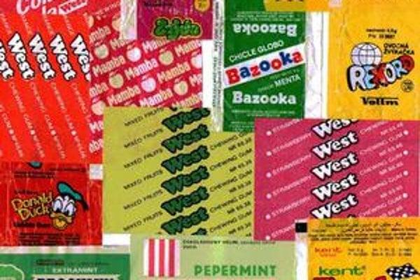 Značky, alebo námety zväčša robili reklamu vtedy populárnym seriálom, filmom i športom, dlhodobejšie sa ale na trhu neudržali.