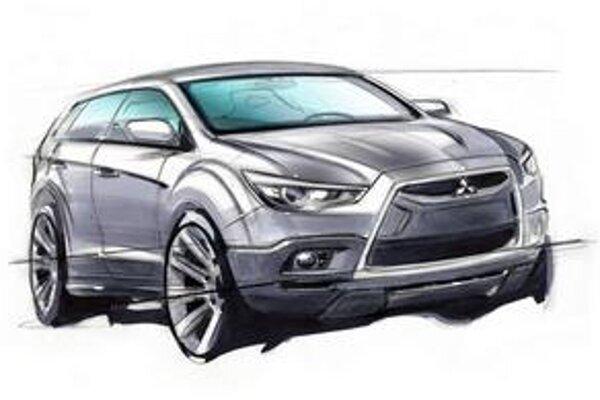 Nový crossover firmy Mitsubishi bude mať svetovú premiéru na jarnom ženevskom autosalóne.