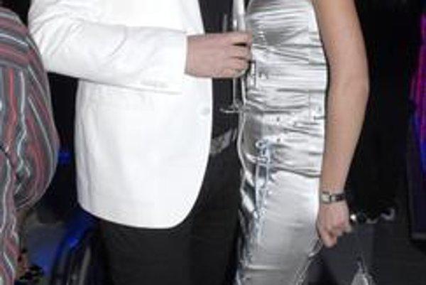 Ferko Mikloško s organizátorkou Natáliou Selvekovou.