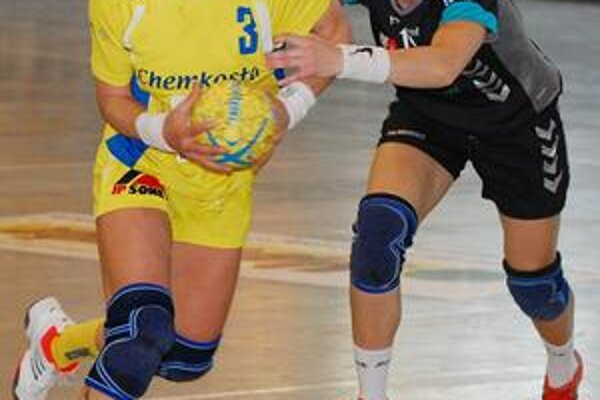 Na súpera platila. Kanonierka Iuventy A. Tóthová nastrieľala Trenčínu v oboch zápasoch dokopy 15 gólov.