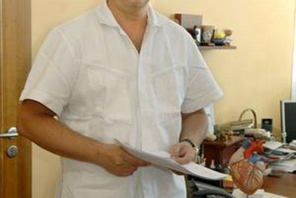 MUDr. František Sabol. Kardiochirurgia je jeho životným poslaním.