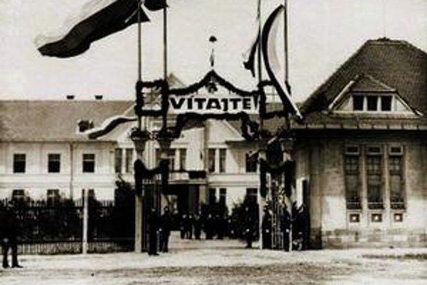 Štátna nemocnica v Košiciach z r. 1924.
