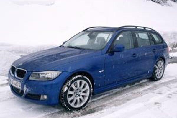 BMW 318d Touring. Trojkový rad bol nedávno inovovaný