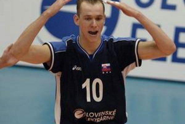 Opora. Martin Nemec by sa po zranení mal vrátiť do zostavy Slovenska.