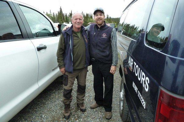 Pavel Ballo (vľavo). Splnil si svoj sen. Navštívil Aljašku.