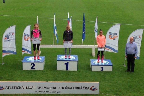 Soňa Vnenčáková. Po víťazstve vbehu na 3 000 m.