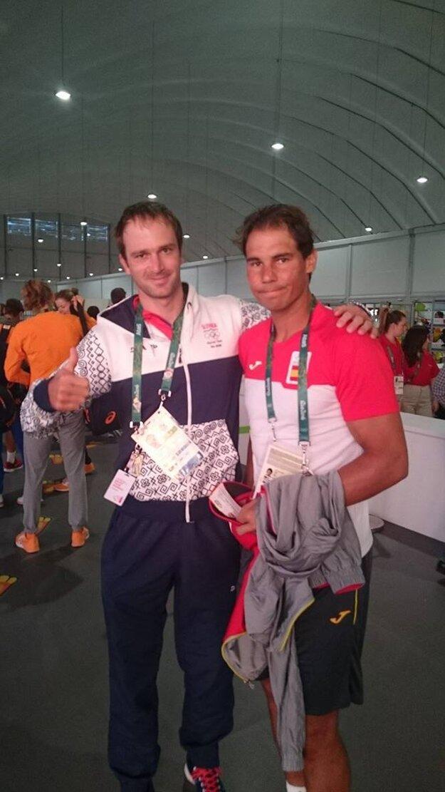 Ladislav Škantár si urobil spoločnú fotografiu s Rafaelom Nadalom.