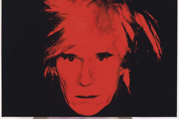 Autoportrét Andyho Warhola (1928-1987)