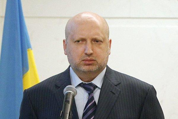 Tajomník Rady národnej bezpečnosti a obrany Ukrajiny Olexandr Turčynov.