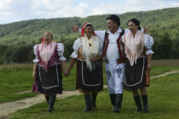 Folklór majú v Dubinnom radi.