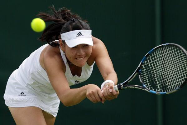 Čínska tenistka ovládla turnaj na domácej pôde.