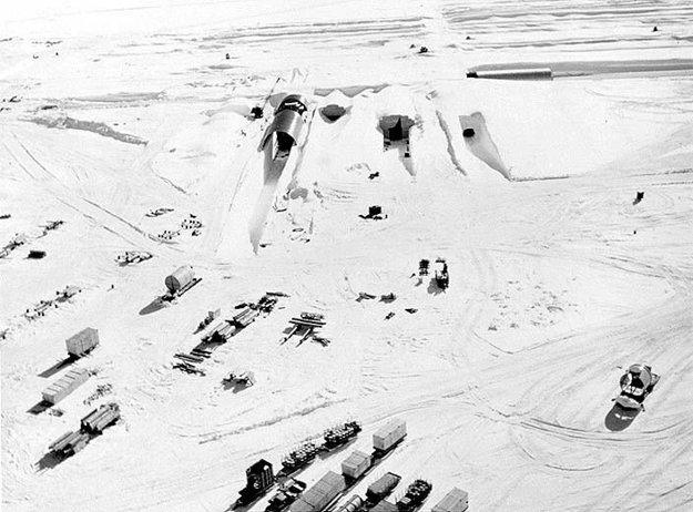 Prenosná jadrová elektráreň v Camp Century.