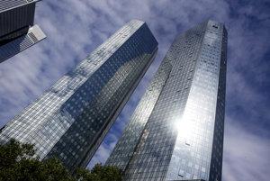 Sídlo Deutsche Bank vo Frankfurte.