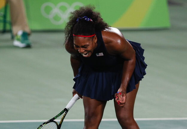 Serena nebola vo svojej koži.