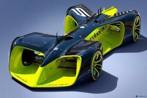 Autonómny špeciál určený pre preteky Roborace