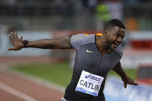 Gatlin chce prekonať fenomenálneho Jamajčana Usaina Bolta.