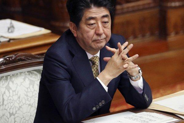 Šinzó Abe.
