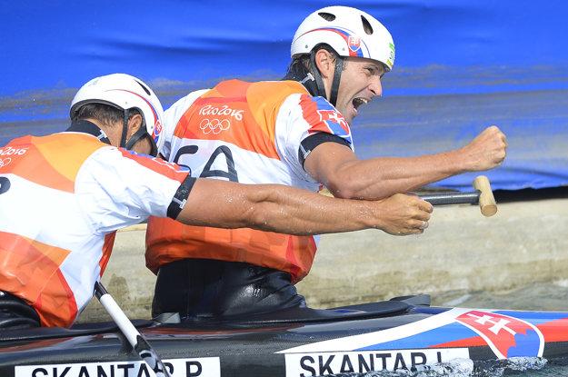 Ladislav a Peter Škantárovci zašli skvelú jazdu.