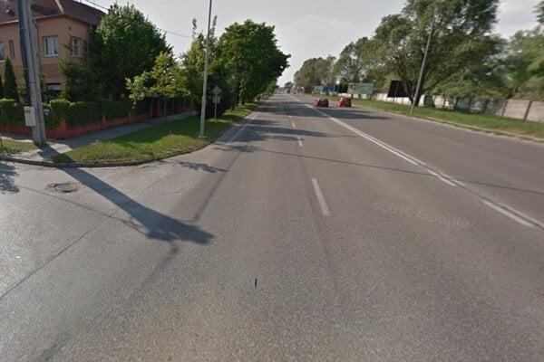 Na Výpalisku pri odbočke na Dostojevského ulicu došlo dnes k dopravnej nehode.