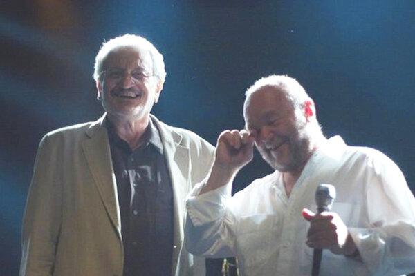 Milan Lasica a Peter Lipa.