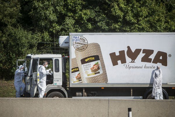 Auto, v ktorom sa našli telá utečencov, už nepatrilo spoločnosti HYZA.