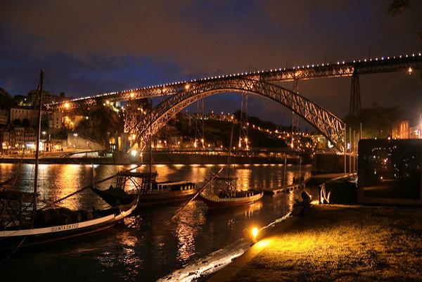 Večerné Porto.