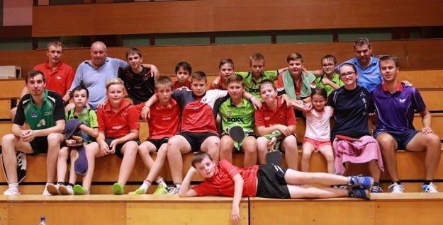 Spoločné foto účastníkov sústredenia v Bratislave.