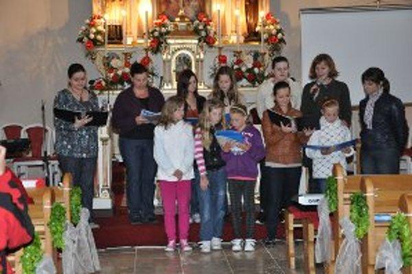 Jedno z vystúpení počas Noci v kostoloch v Diviakoch nad Nitricou.