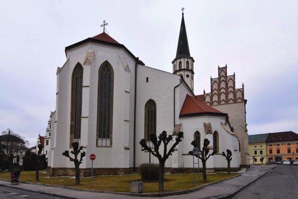 Bazilika sv. Jakuba v Levoči.