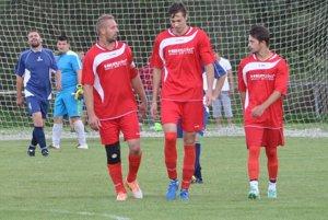 Jeden gól Rabče strelil Patrik Krivanka (v strede).