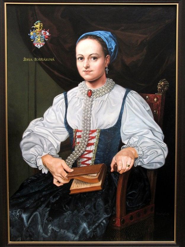 V tých časoch nezvyčajne súcitná a starostlivá voči chorým a biednym bola šľachtičná Žofia Bosniaková.