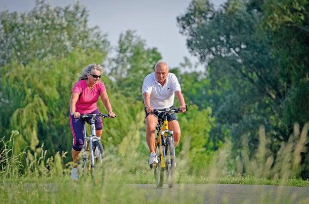 Bicyklovanie pri Neziderskom jazere