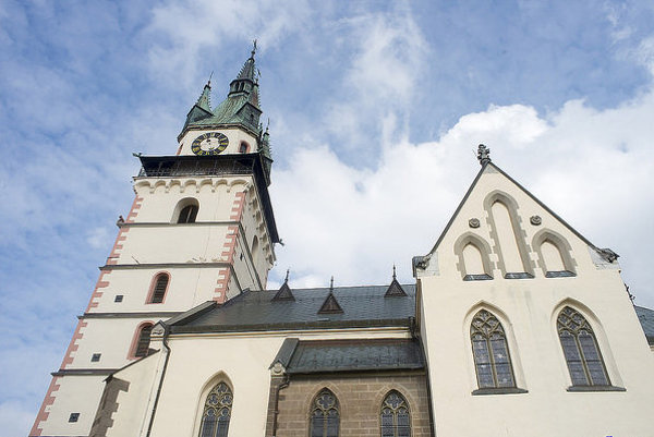 Kostol sv. Kataríny na Mestskom hrade je dominanta Kremnice.