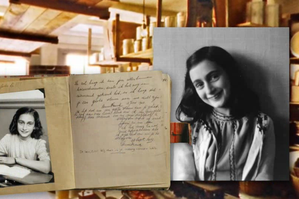 Anna Franková a jej denník.