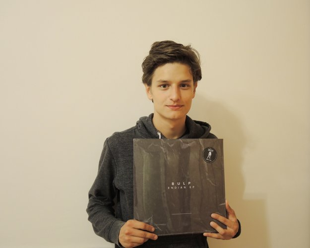 Samuel s debutovým EP.