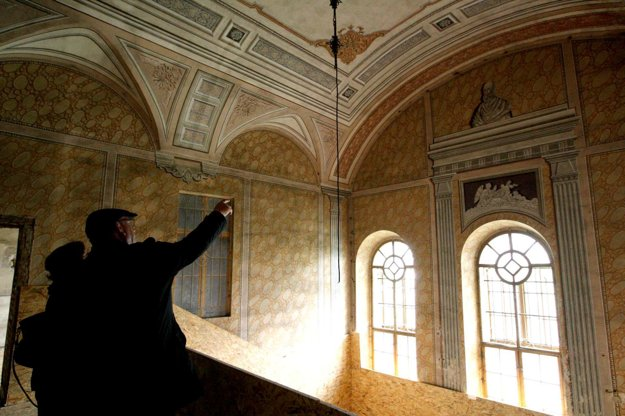 Kaštieľ chce Akadémia umení zachovať v pôvodnej podobe.