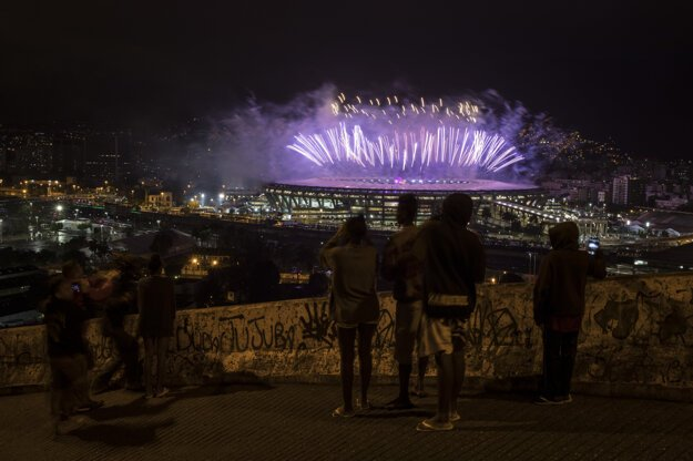 Kontrast olympijských hier v Riu.