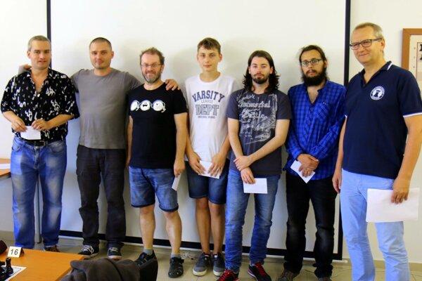 Účastníci šachového turnaja.