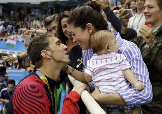 Pre Phelpsa je prvoradá už iba rodina.
