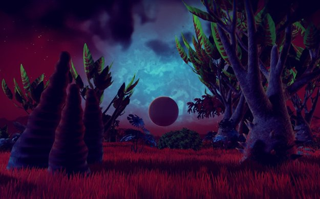 Od kamenných planét, po psychedelické trópy.