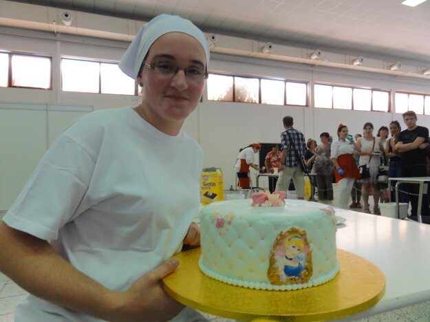 Popoluškovská torta.