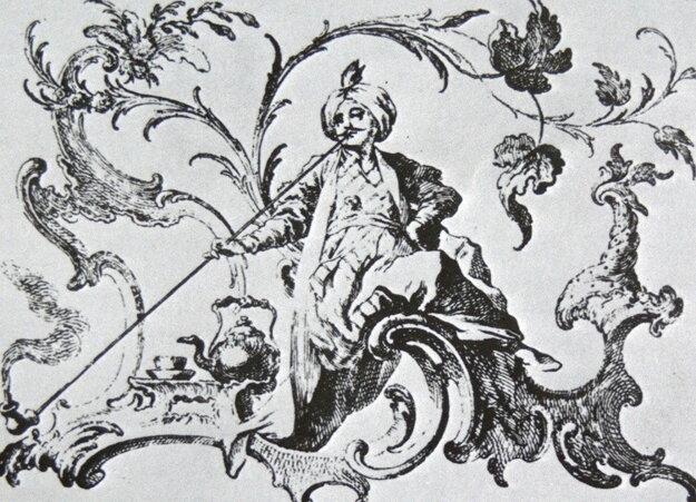 Fajčiaci Turek, 1750.