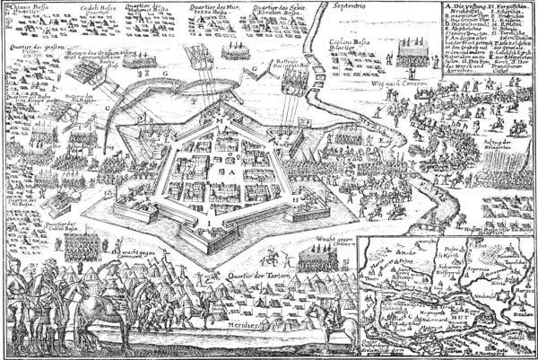 Protiturecká pevnosť je z roku 1663, stála v Nových Zámkoch.
