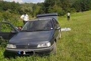Auto parkujúce v v CHKO Malé Karpaty s 5 stupňom ochrany.